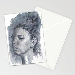 Black women 2  Stationery Cards
