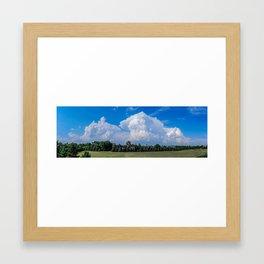 Storm Clouds, Bismarck, North Dakota Framed Art Print