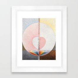 Hilma af Klint, Group IX/UW No. 25 Framed Art Print