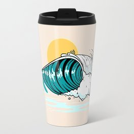 Balinese Wave Travel Mug