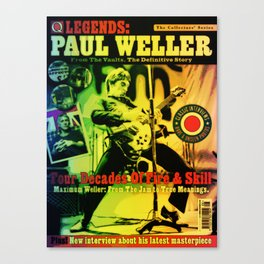 Paul Once Jammed With Style Canvas Print