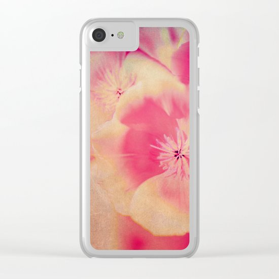 Poppies(delicate) Clear iPhone Case