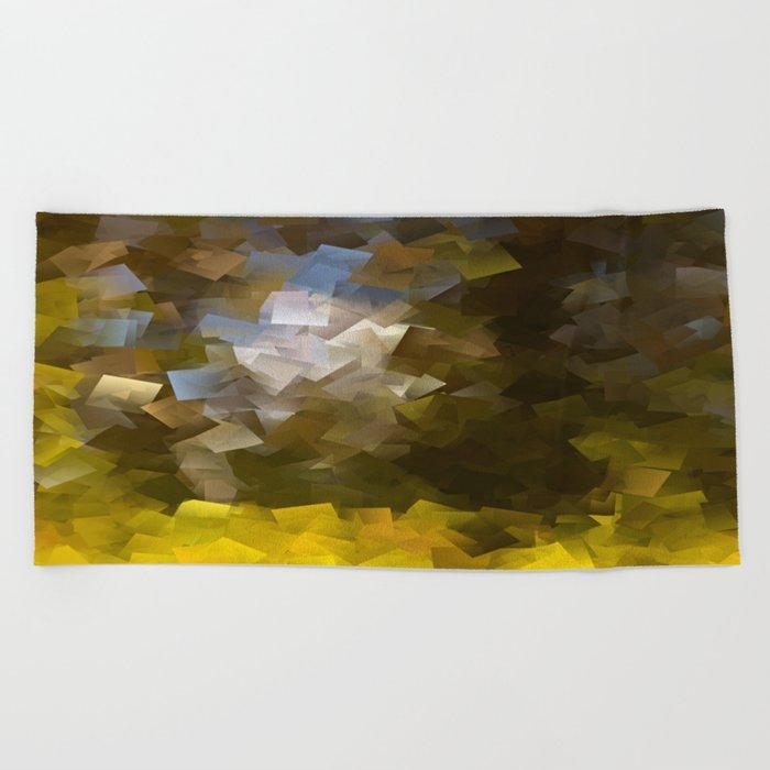 Abstract IV #decor #society6 Beach Towel
