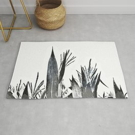 Watercolor Maize Foliage Rug