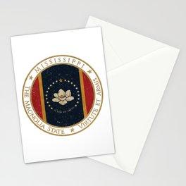 Vintage Mississippi US State Stationery Cards