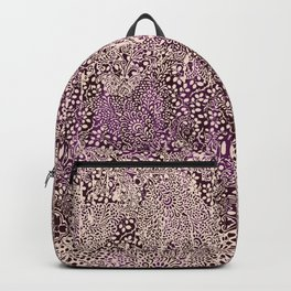 sarasa paisley monochrome Backpack