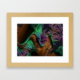 spiro that tiger Framed Art Print