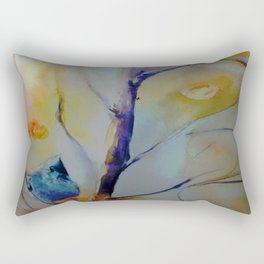 Unique Perspective Birdlife watercolor by CheyAnne Sexton Rectangular Pillow
