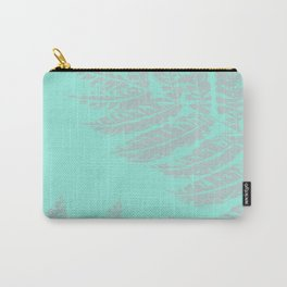 Foliage #3 #mint #decor #art #society6 Carry-All Pouch