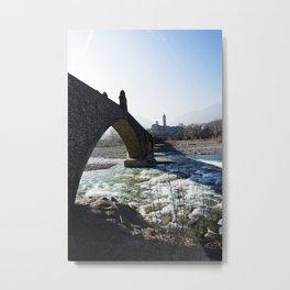 The Bridge - Italy Metal Print