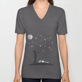 Shooting stars Unisex V-Neck