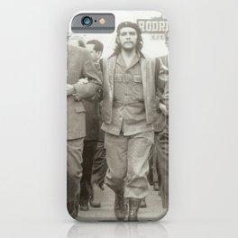 Che Guevara, Fidel Castro and Revolutionaries iPhone Case