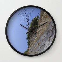 Cliffhanger - Stevns Klint Wall Clock