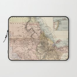The Nile River Valley Map (1910) Laptop Sleeve