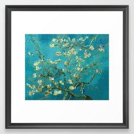 Vincent Van Gogh Blossoming Almond Tree Framed Art Print