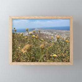 Santorini | Greece Framed Mini Art Print