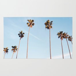 LA Palm Trees Rug