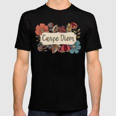 Carpe Diem Black X-LARGE Mens Fitted Tee