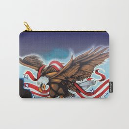 Liberty Eagle by Topaz Carry-All Pouch