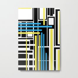 geometric art 1 Metal Print