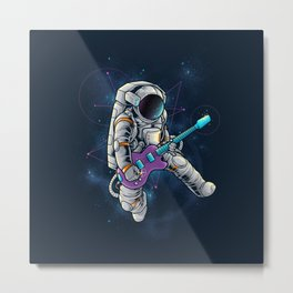 Spacebeat Metal Print