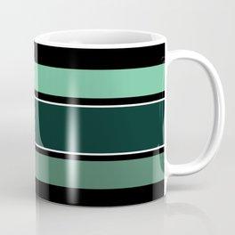 Team Colors 2...dk.green.light green , lighter green Coffee Mug