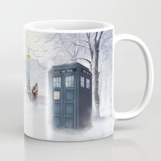 Tardis Snow Romantic Mug