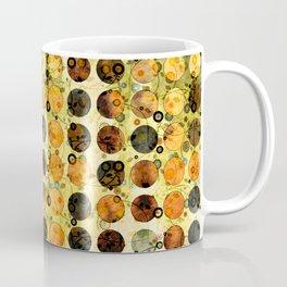 MELANGE OF YELLOW OCKER and BROWN Coffee Mug
