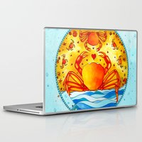 cancer Laptop & iPad Skins featuring Cancer by Sandra Nascimento