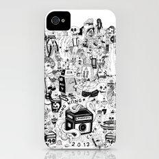 HONG KONG CLUB Slim Case iPhone (4, 4s)