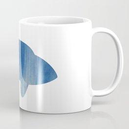 texture bleue Coffee Mug