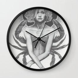 Cancer New Moon Wall Clock
