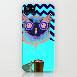 The Owls Are Not What They Seem (unframed) iPhone Case