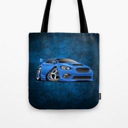 Import Sports Sedan Cartoon Illustration Tote Bag