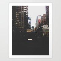 ps, iloveyou new york Art Print