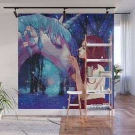 The Beauty of Imagination (Painting) Wall Mural