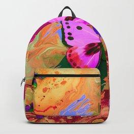 Butterflies in Flight - Rainbow Butterfly Backpack