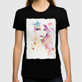 Galaxy Woman T-shirt
