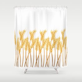 Saskatchewan Harvest Shower Curtain