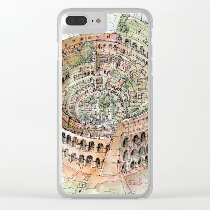 The Colosseo City Clear iPhone Case