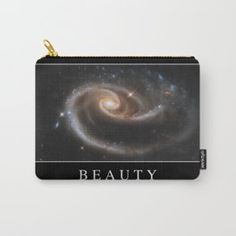 Beauty: Inspirational Quote and Motivational Poster Carry-All Pouch