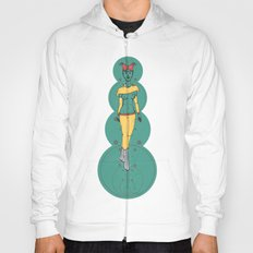 Interstellar Shawoman; Martian Babe Hoody
