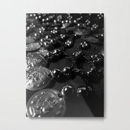 Shine and Shimmy Metal Print