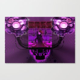 Bass gets me high Canvas Print