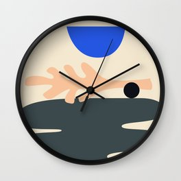 Shape study #15 - Stackable Collection Wall Clock