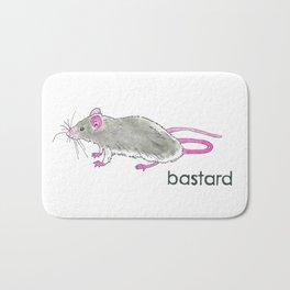 Rat Bastard Bath Mat