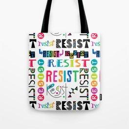 Resist them 3 Tote Bag