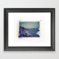 Lake Russell Polaroid Transfer Framed Art Print