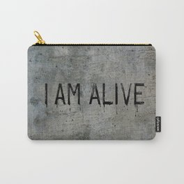 I AM ALIVE - Black - Detroit: Become Human Deviant Writing Carry-All Pouch