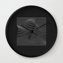 Minimal Square Warp Wall Clock